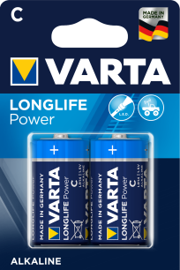 Baterie VARTA LongLife Power C 2szt. blister